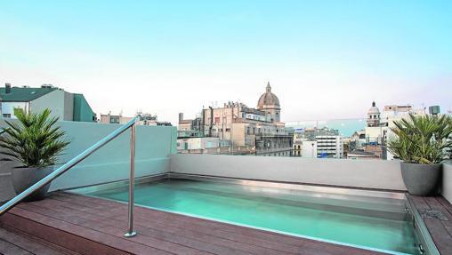 Piscina del Modmost, en Barcelona