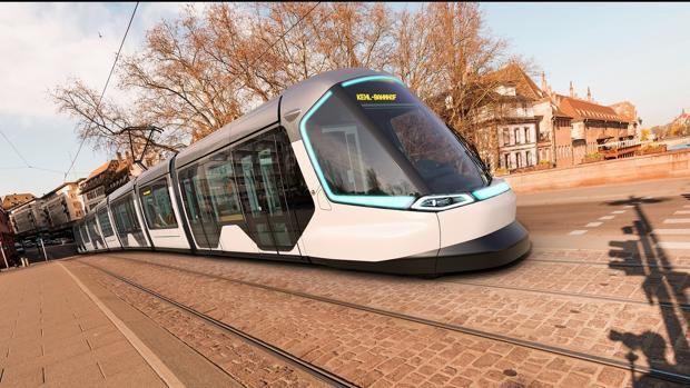 El nuevo tranvía que une Estrasburgo, en Francia, con Kehl, en Alemania