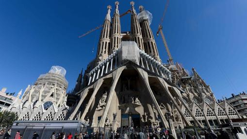 Fachada oeste de la Sagrada Familia