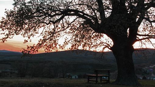 Anochecer en Beratón