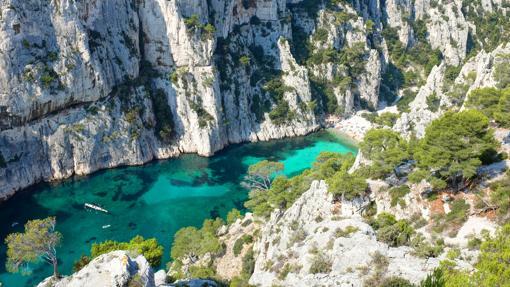 Le Calanque d´en Vau en Francia