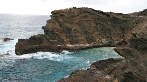 Playa Halona Cove en Hawaii