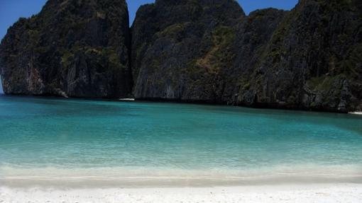 Playa de Maya Bay en Tailandia