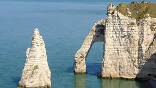 Porte d´Aval en Francia