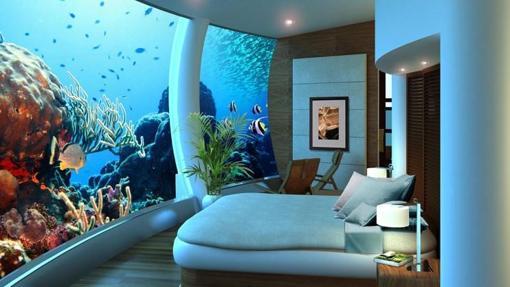 «Poseidon Undersea Resort» en las islas Fiji