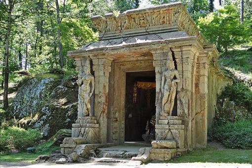 Templo khmer del Parque Oriental de Maulévrier