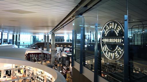 Uno de los rincones del aeropuerto de Oslo
