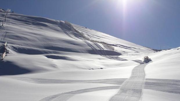 Pistas de Sierra Nevada, a principios de diciembre