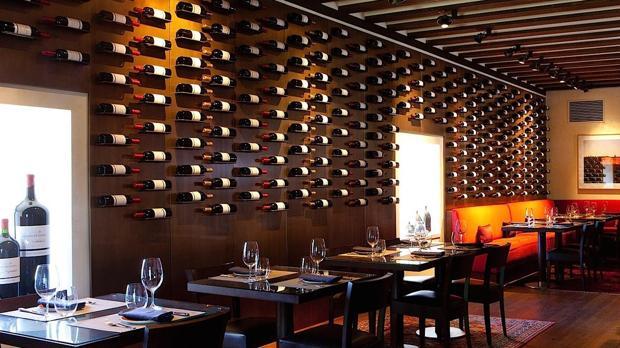 Vinoteca, en el Hotel Abadía Retuerta Le Domaine