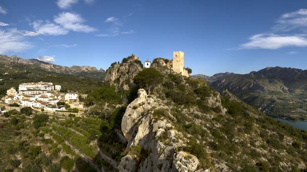 Vista del Valle de Guadelest