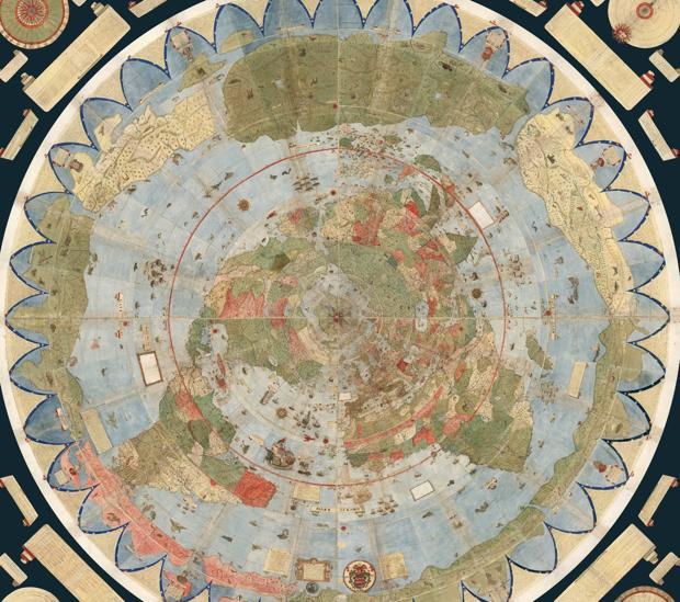 Mapa de Urbano Monte digitalizado y unido por David Rumsey