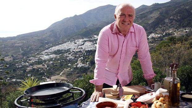 Rick Stein durante uno de sus programas «españoles»