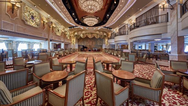 La Queen's Room, en el barco Queen Victoria