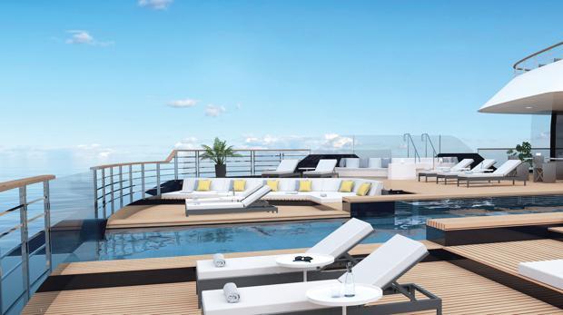 Así son los primeros cruceros de la cadena Ritz-Carlton