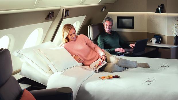 Primera Clase en el A380 de Singapore Airlines