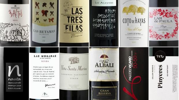 Doce buenos vinos con un precio inferior a diez euros