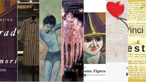 Exposiciones temporales para ver dentro y fuera de España