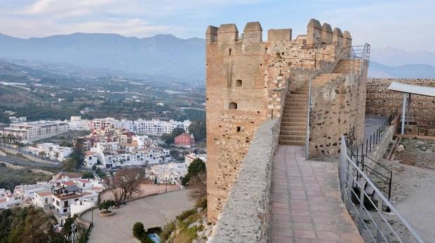 Vista desde el castillo de Salobreña